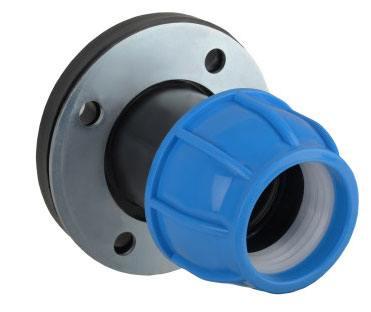 Фланец для соединения полипропиленовой трубы и металлопластиковой