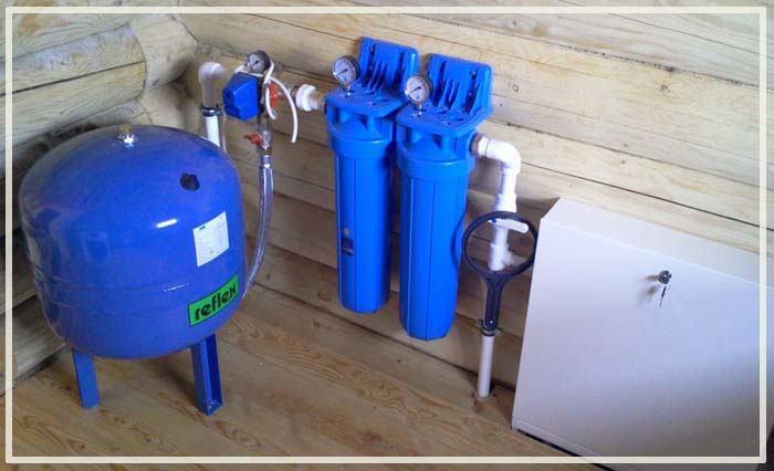 Водопровод из колодца в дом - зимний вариант своими руками