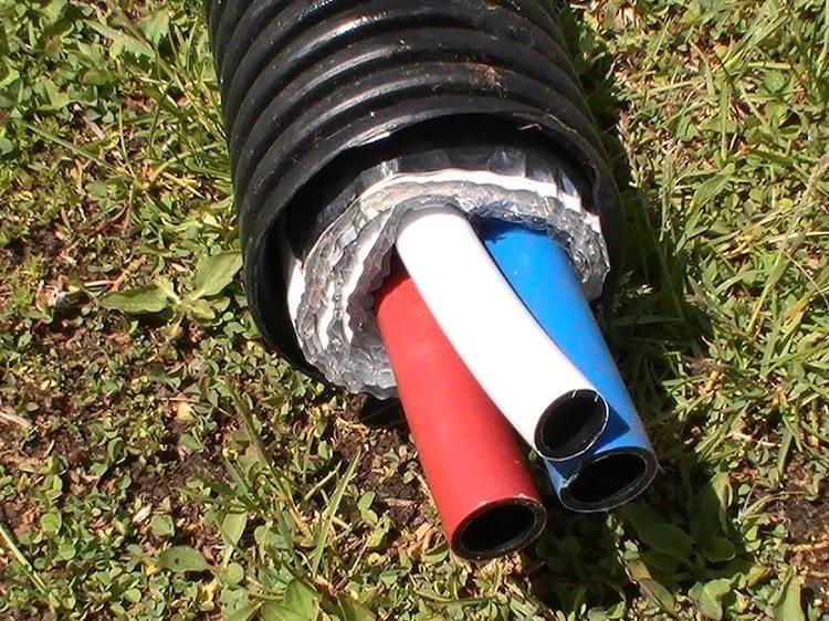 Трубы для водопровода под землей