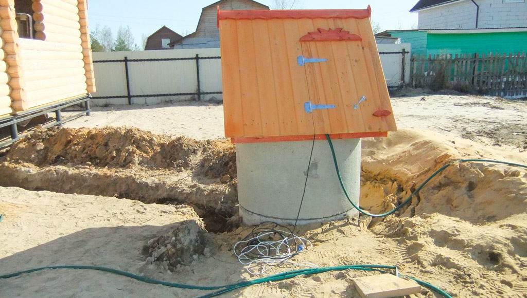 Водопровод из колодца в дом - зимний вариант