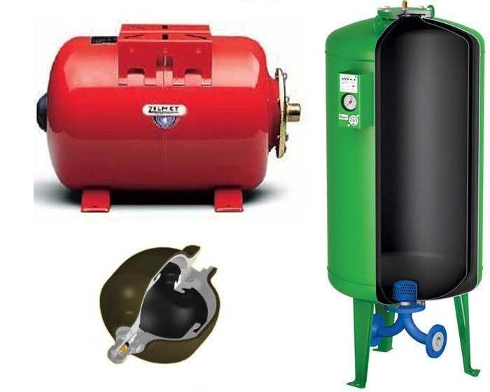 Схемы подключения гидроаккумулятора для систем водоснабжения: особенности подсоединения гидробака