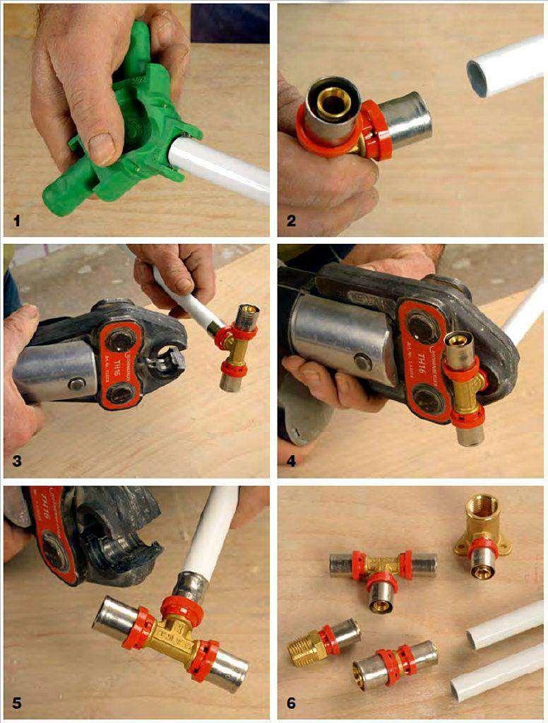 инструкция по работе с металлопластиковой трубой