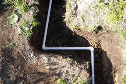 Использование труб из ПВХ для водопровода