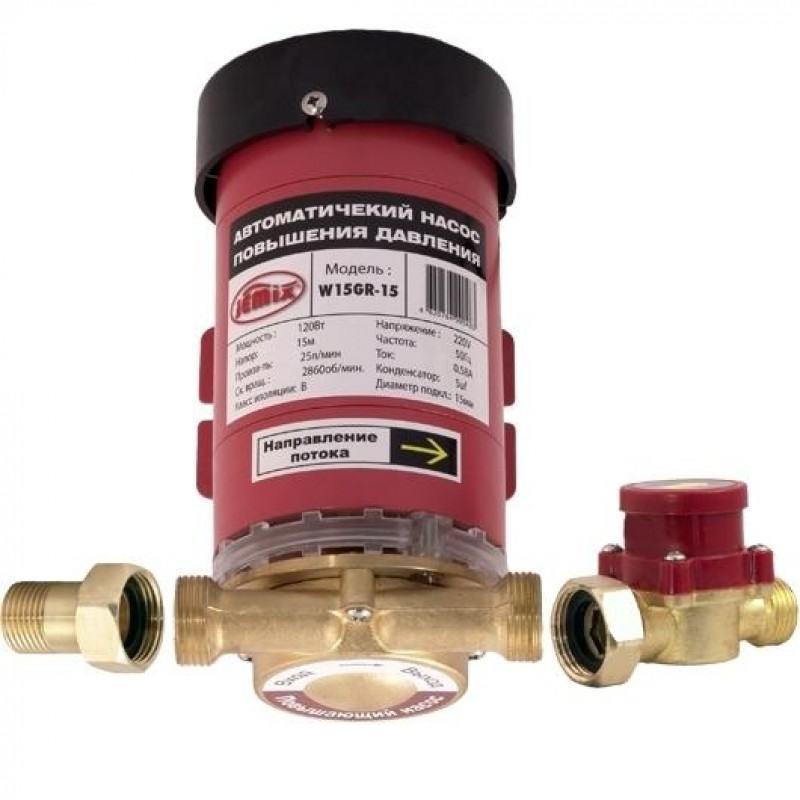 Как выбрать насос для увеличения давления воды в системе водопровода