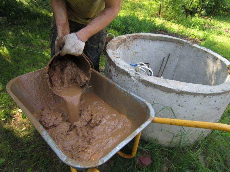 Как почистить колодец от ила и песка своими руками