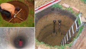 В какое время года лучше копать колодец