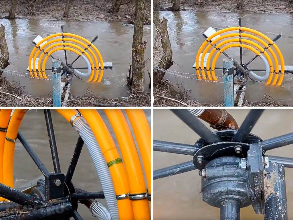 Водяной насос для воды - самостоятельное изготовление