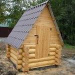 домик для скважины