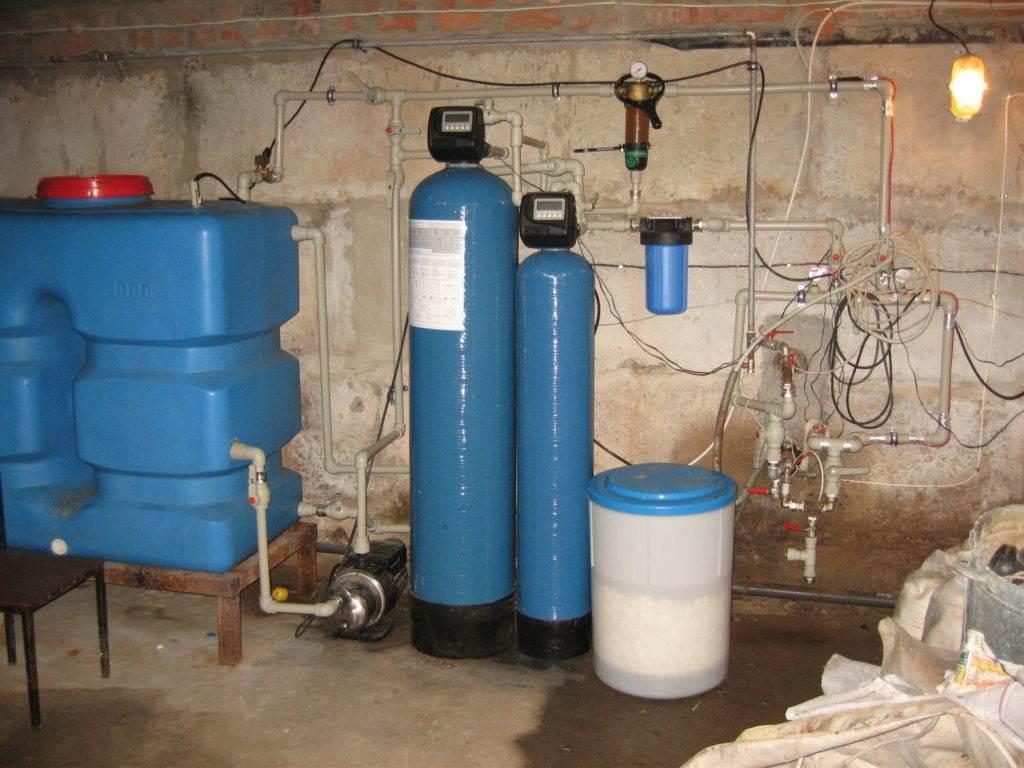 как очистить воду от извести из скважины