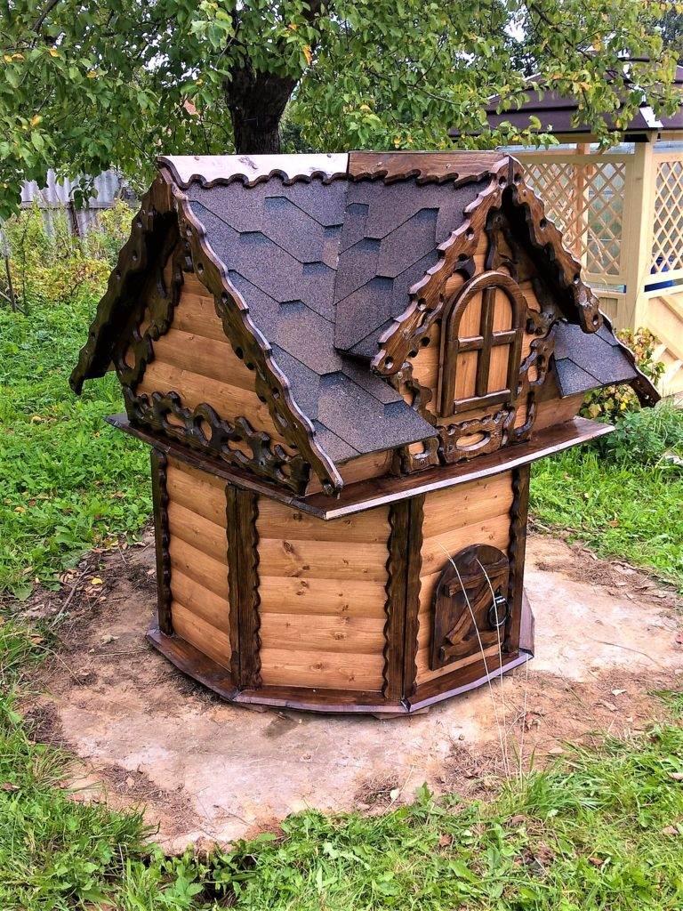 Изготовление домика для скважины самостоятельно