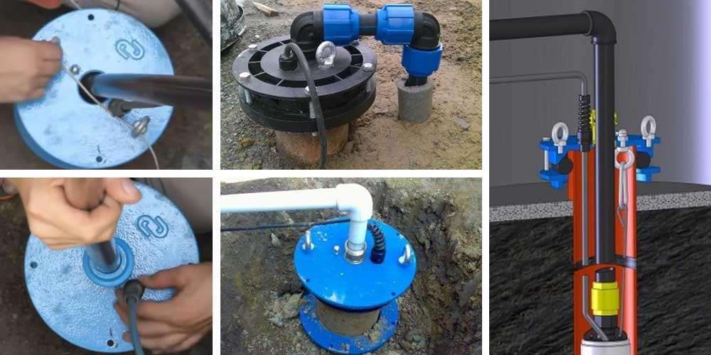 Кессон для скважины на воду: виды и способы изготовления своими руками