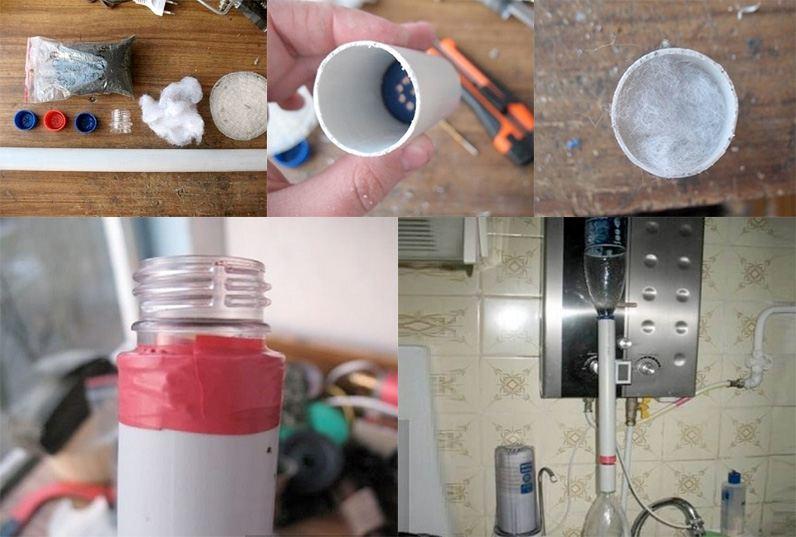 фильтр для воды из пвх трубы