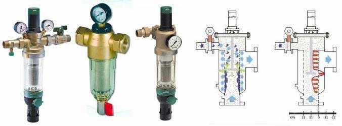 Самопромывные фильтры для очистки воды: принцип работы и тонкости эксплуатации