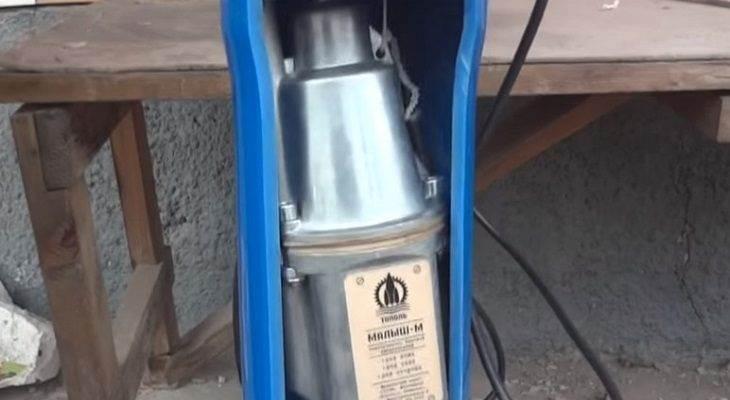 застрял вибрационный насос в скважине