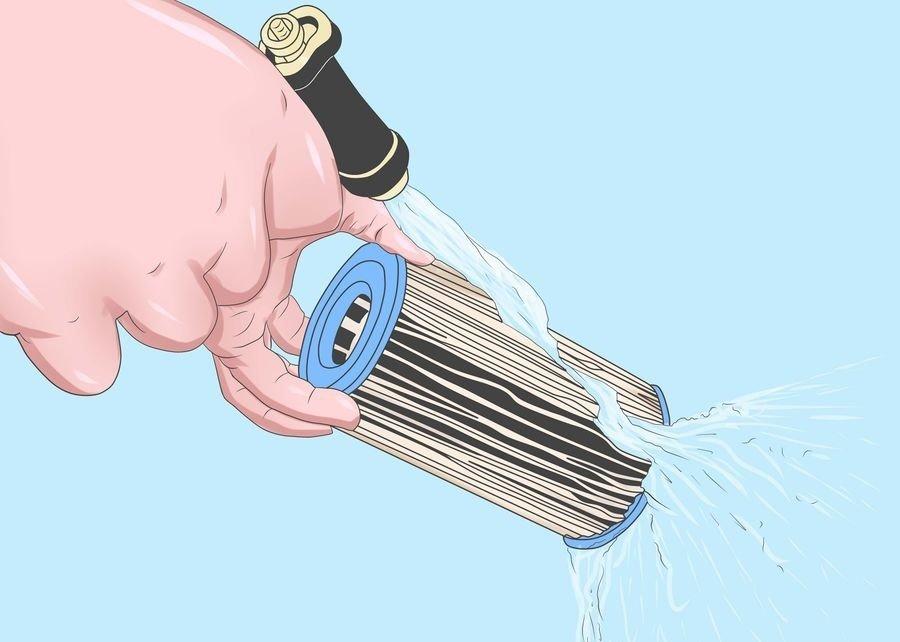 Как почистить фильтр для воды своими руками + видео