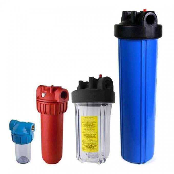 Какой фильтр установить на проточный водопровод с большим количеством железа