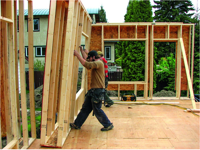 Каркасный дом по канадской технологии своими руками за 90 дней