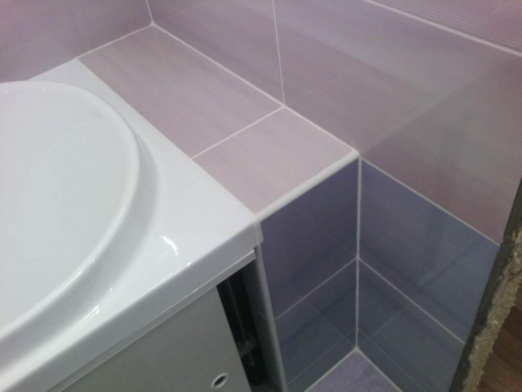 Бордюрная лента для ванной надежный способ герметизации стыков