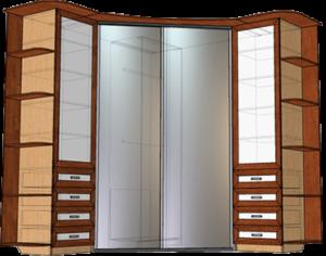 ЛДСП и МФД чаще всего используются для проектирования каркаса и фасадов