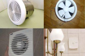 вентилятора для ванной комнаты