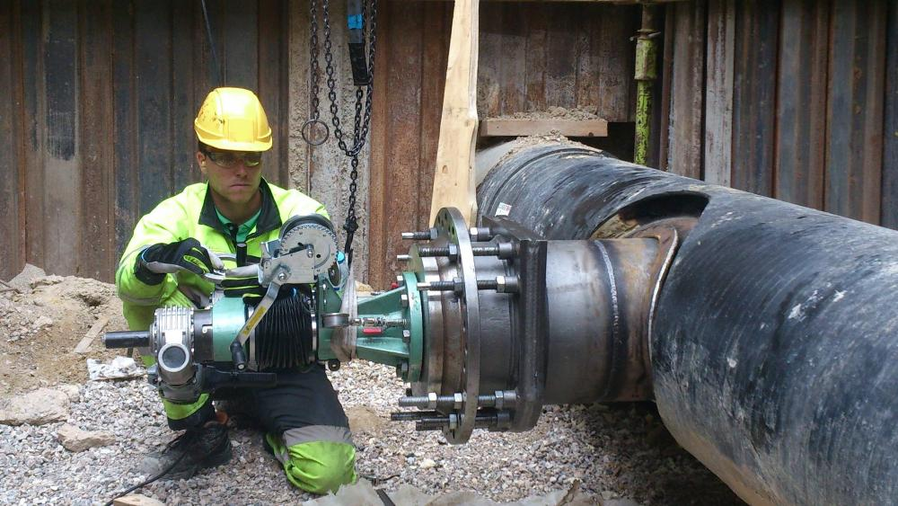оборудование для врезки в трубопровод