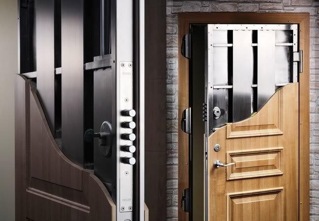 Чем хороши входные бронированные двери